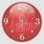 Christmas Time Gift Package Sticker