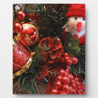 Christmas Time Plaque