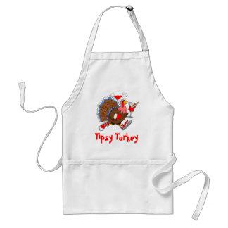 Christmas Tipsy Turkey (Martini) Standard Apron