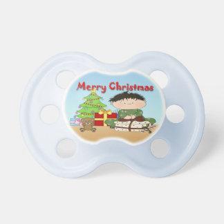 Christmas Toddler Boy Pacifier