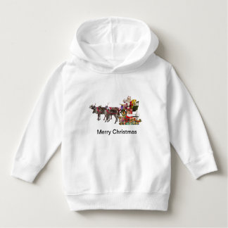 Christmas Toddler Pullover Hoodie