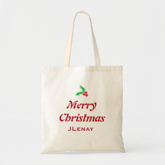 Christmas tote purse