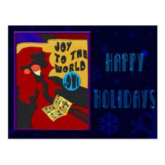 Christmas Toulouse Postcard