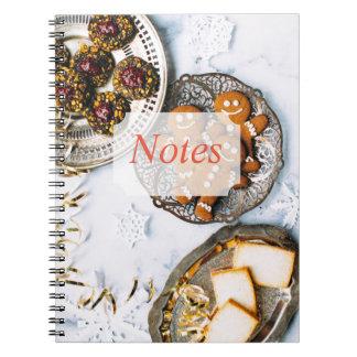 Christmas Treats Note Book