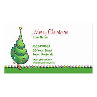 Christmas Tree2 Business Card