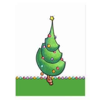 Christmas Tree2 Postcard