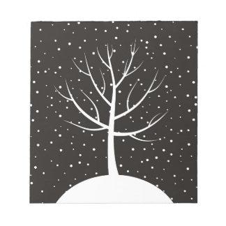 Christmas tree3 notepad