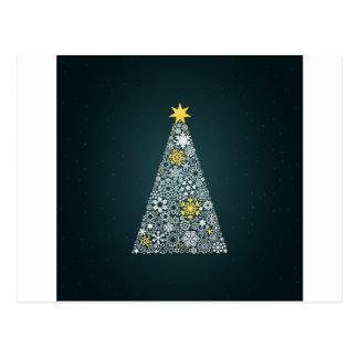 Christmas tree4 postcard