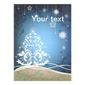 Christmas tree 21.5 cm x 28 cm flyer