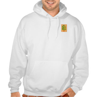 CHRISTMAS TREE-3 HOODED PULLOVER