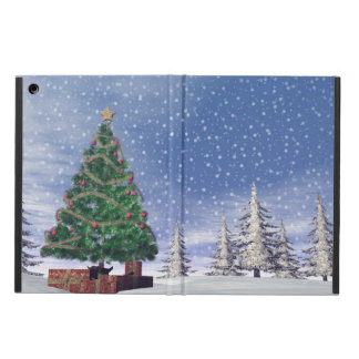 Christmas tree - 3D render Cover For iPad Air