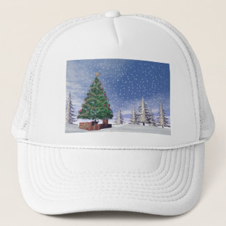 Christmas tree - 3D render Trucker Hat
