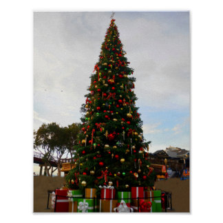 Christmas Tree #5 Poster