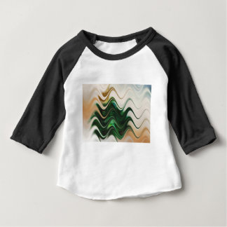 Christmas Tree Abstract Baby T-Shirt