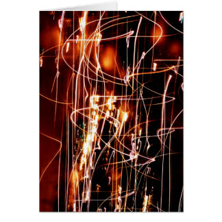 Christmas Tree Abstract Cards