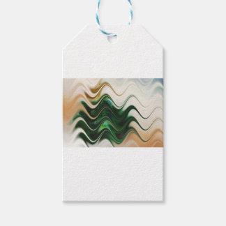 Christmas Tree Abstract Gift Tags