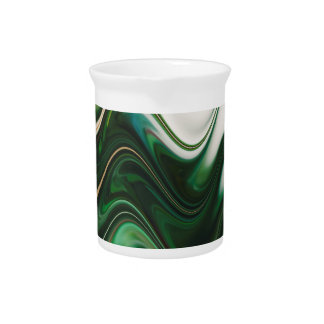 Christmas Tree Abstract Pitcher