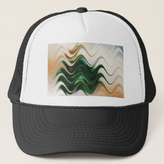 Christmas Tree Abstract Trucker Hat