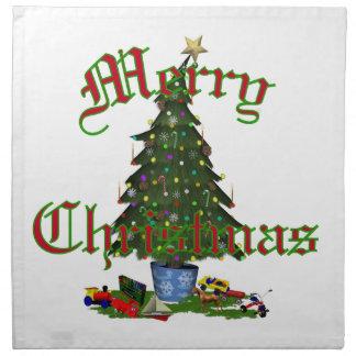 Christmas Tree American MoJo Napkin