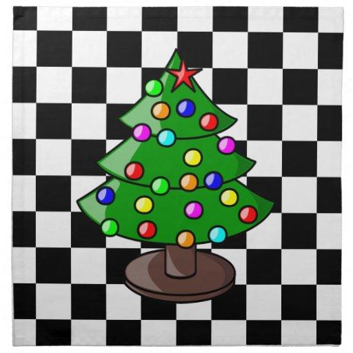 Christmas Tree American MoJo Napkins Napkin