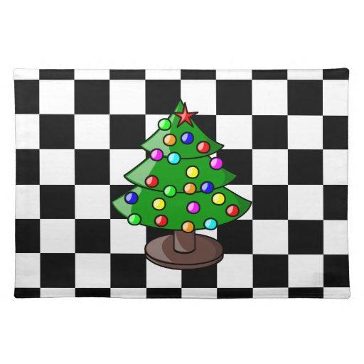 Christmas Tree American MoJo Placemats Place Mats