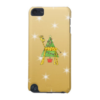 Christmas Tree and Animals iPod Touch (5th Generation) Case