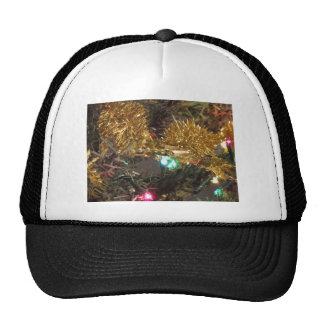 Christmas tree and Christmas decorations Cap