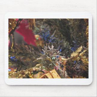 Christmas tree and Christmas decorations Mouse Pad