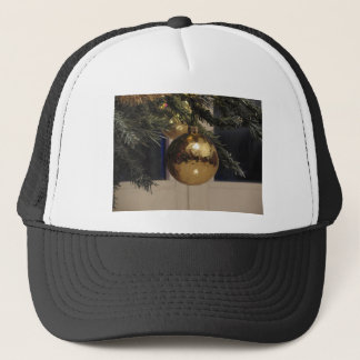 Christmas tree and Christmas decorations Trucker Hat