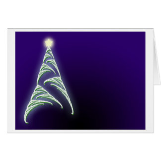 Christmas Tree and Star Card
