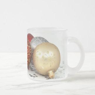 Christmas tree ball ornaments mug
