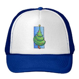 Christmas Tree blue Hat