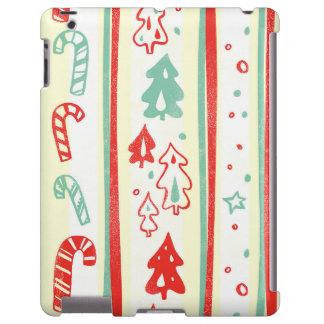 Christmas Tree Candy Cane Stripe Pattern
