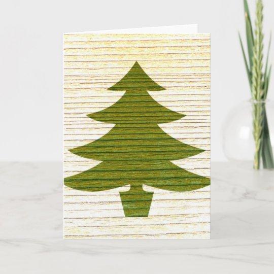 Christmas Tree Card Zazzle Com Au