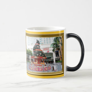 Christmas tree carouselle magic mug