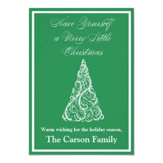 Christmas Tree Christmas Card - Holiday Card