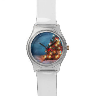 Christmas tree - Christmas decorations -Snowflakes Watch