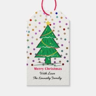 Christmas Tree Confetti Dots Christmas Holiday