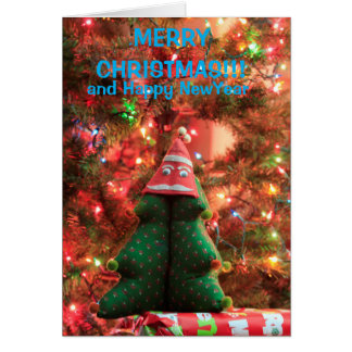 Christmas Tree Decoration Greeting Card!! Card