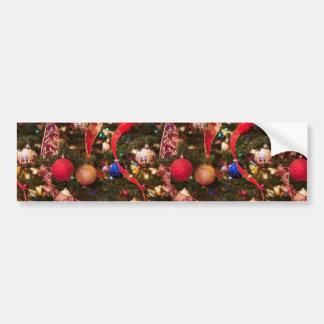 Christmas Tree Decorations Bumper Sticker