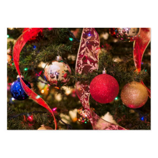 Christmas Tree Decorations Business Card