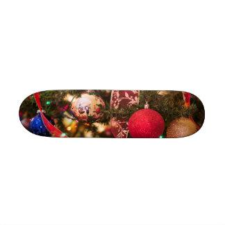 Christmas Tree Decorations Custom Skate Board