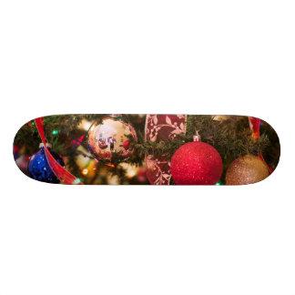 Christmas Tree Decorations Skateboard Deck