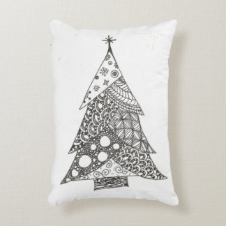 Christmas Tree Decorative Cushion