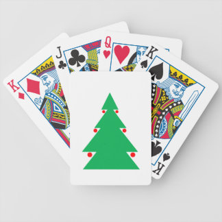 Christmas Tree Design 8.5 by 8.5 October 21 2017.g Bicycle Playing Cards