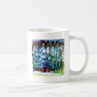 Christmas Tree Design Mugs