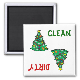 Christmas Tree Dishwasher Magnet