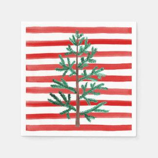 Christmas Tree Disposable Napkins