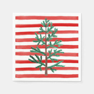 Christmas Tree Disposable Napkins Paper Napkin