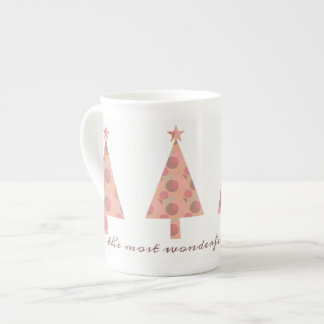 Christmas Tree Elegant Graceful Sophisticated Chic Tea Cup